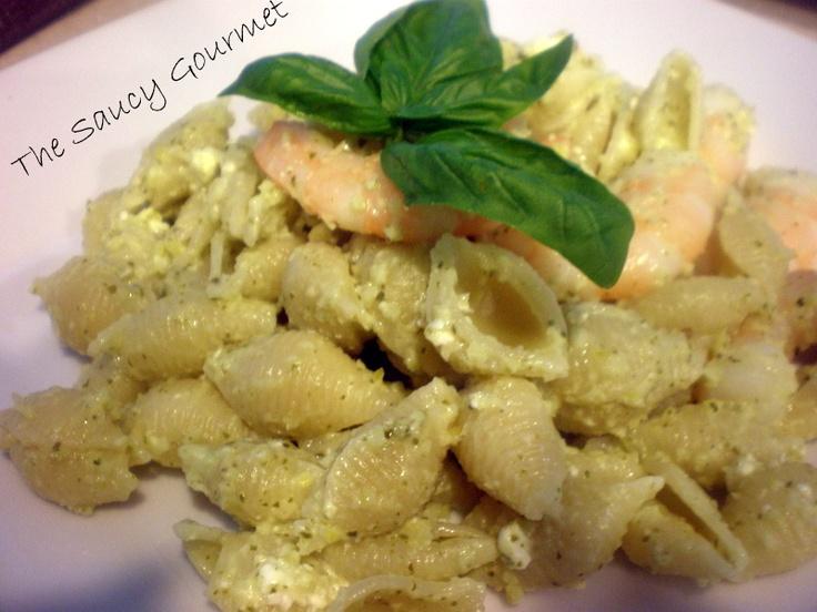 Shrimp With Meyer Lemon Pesto | Meyer Lemon recipes | Pinterest