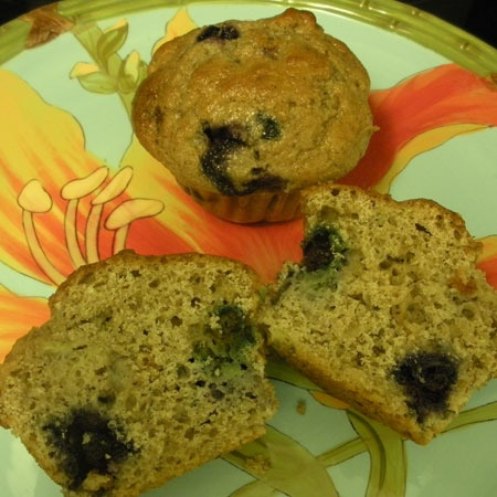 Healthy Banana Blueberry Muffins | Find Your Inner Chef Contest | Pin ...