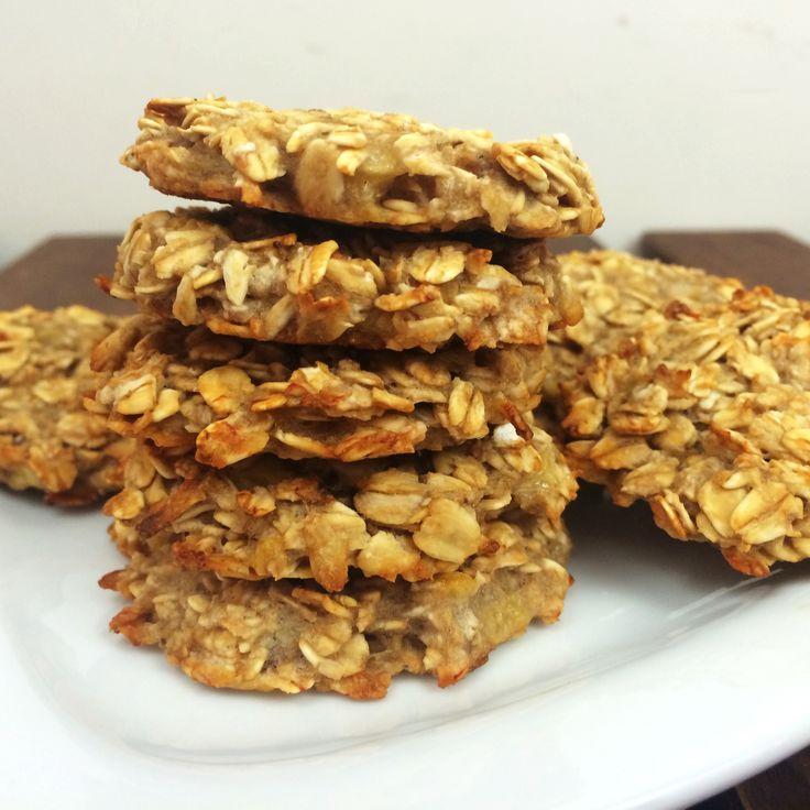 Ingredient Cookies- Just Oats & Bananas   Mind Over Munch   Banana ...