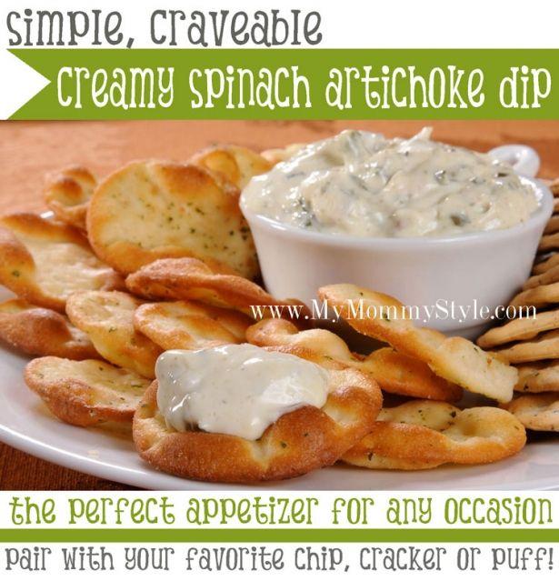 creamy-spinach-artichoke-dip-home-made-easy-recipe-superbowl ...