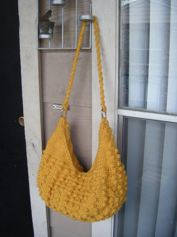 INSTANT DOWNLOAD Natalia Hobo Crochet Tote Bag by natyo2010