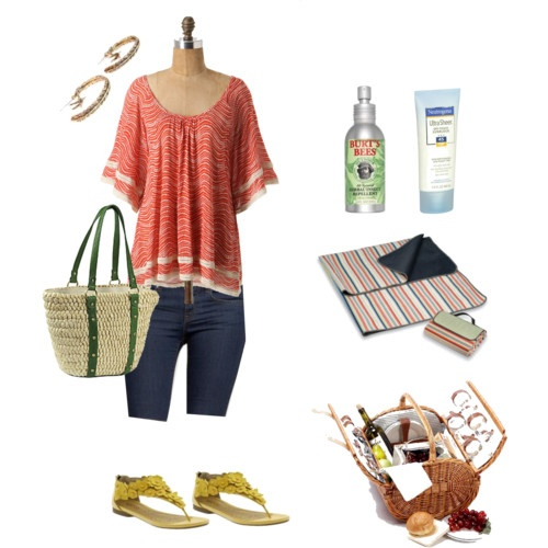 Summer Picnic Outfit My Style Pinterest
