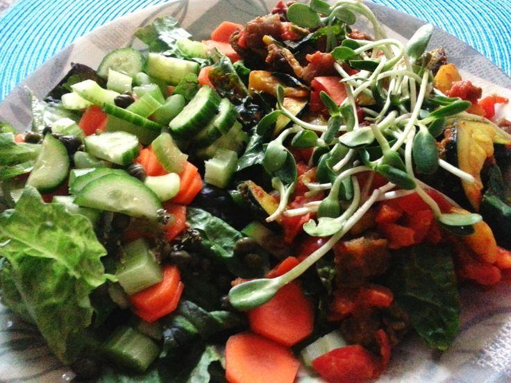 Purple Potato Salad | Recipes: Veggie Sides/Salads | Pinterest