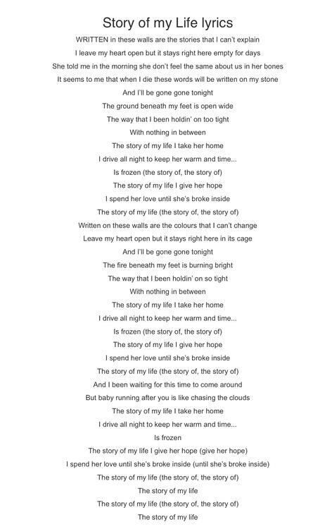 it my life lyrics: