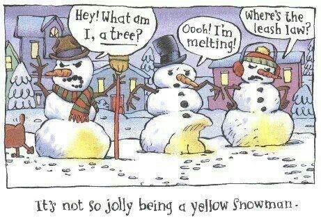 Yellow snowman | Jokes/Quotes/Poems | Pinterest
