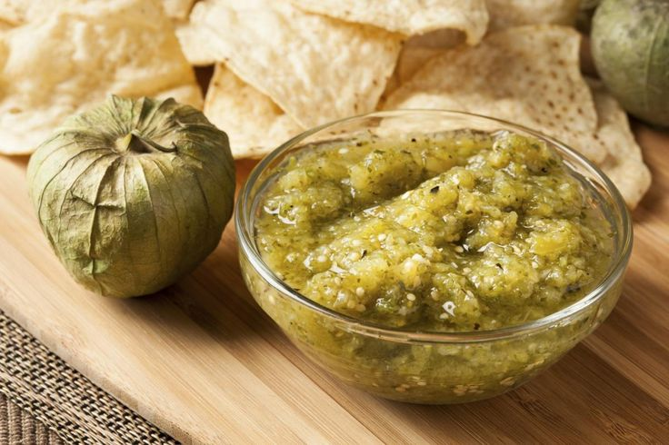 Smoky Chipotle Salsa With Pan-Roasted Tomatillos Recipes — Dishmaps