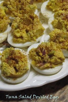 Alil Country Sugar: Tuna Salad Deviled Eggs