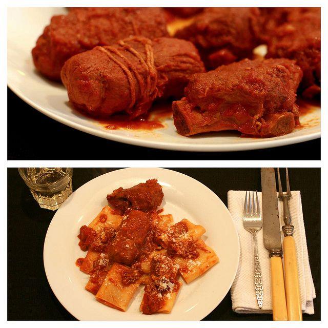 Sunday slow cooked meat & tomato sauce (il ragu' della domenica)