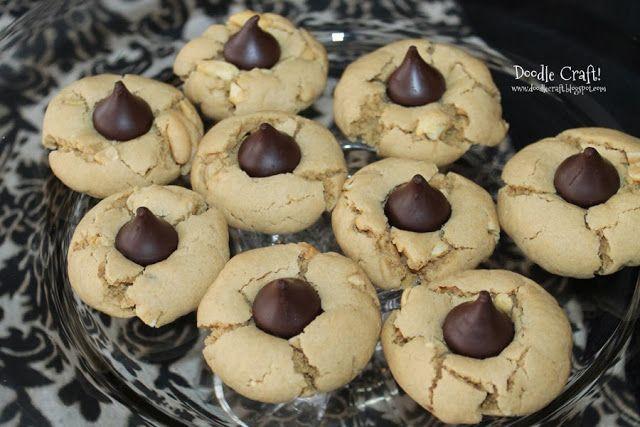 Peanut Butter KISSES® Cookies!. | Food, glorious food:) | Pinterest