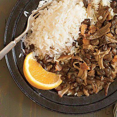 Brazilian Feijoada.. Paula made this for Dinner tonite..
