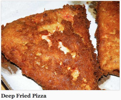 Deep fried pizza | Pizza Rules | Pinterest