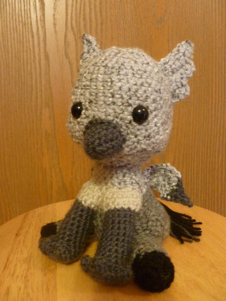 Harry Potter Amigurumi Crochet Patterns : Buckbeak!!! I just need one! harry potter patterns ...