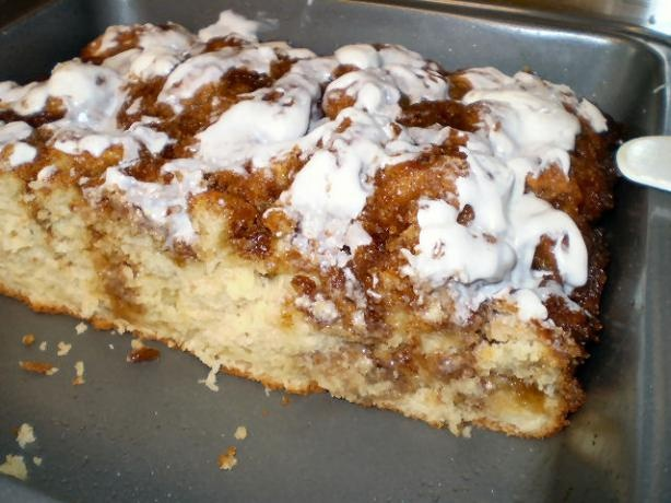 Quick & Easy Cinnamon Bun Bread/Cake - making this right now & the ...