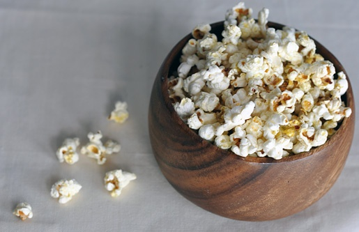 Snack: Chili-Lime-Tequila Popcorn...Tired of regular ol' popcorn ...