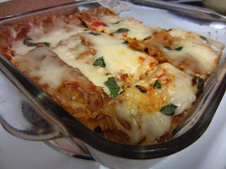 Chicken Italian Sausage, Mushroom, and Spinach Lasagna... uses whole ...