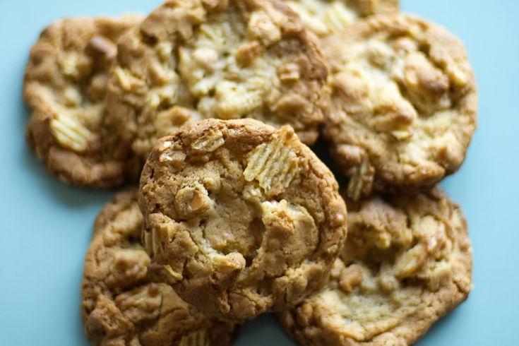 potato chip cookies | cookies | Pinterest