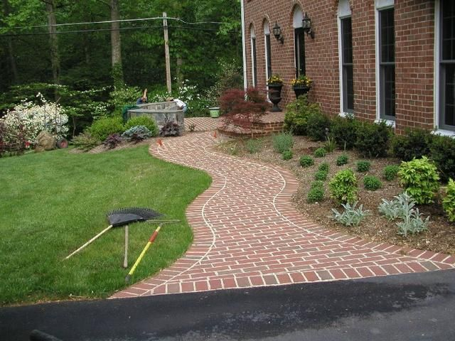 Brick option gardening the great outdoors pinterest for Landscaping rocks northern virginia