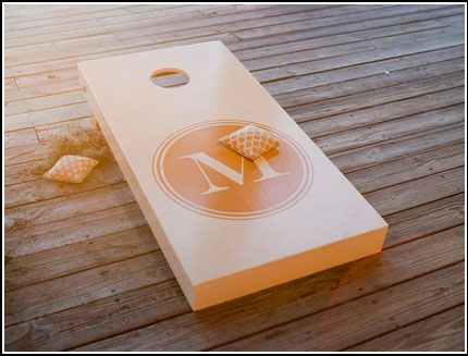 Corn hole #shopkick #summerparty