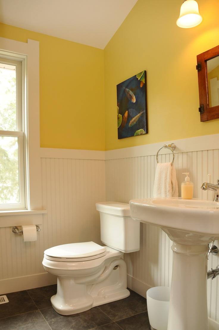 Powder Room With Beadboard Bathrooms Pinterest