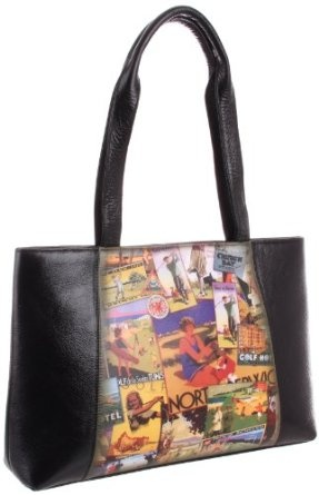 Icon Handbags Aria-44 Tote Icon shoes and handbags are wearable