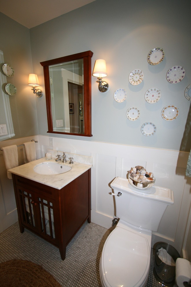 Powder Room Wainscoting Bathroom Pinterest