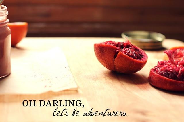 Blood Orange Curd from Vanilla Bean Blog | Food Styling | Pinterest