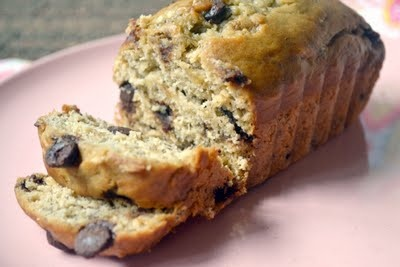 Chocolate Chip Sour Cream Banana Bread | Bread | Pinterest