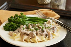 slow cooker beef stroganoff II | SLOW COOKER RECIPES | Pinterest