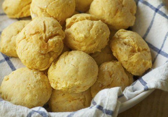 Breakfast Recipe: Sweet Potato Biscuits & Maple Butter