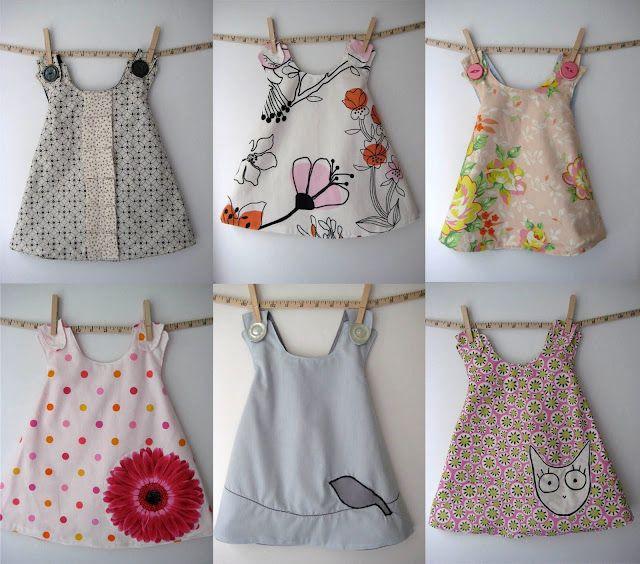 Easy dresses! Cute!!!