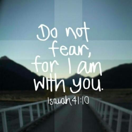 No Fear Bible Quotes About. QuotesGram
