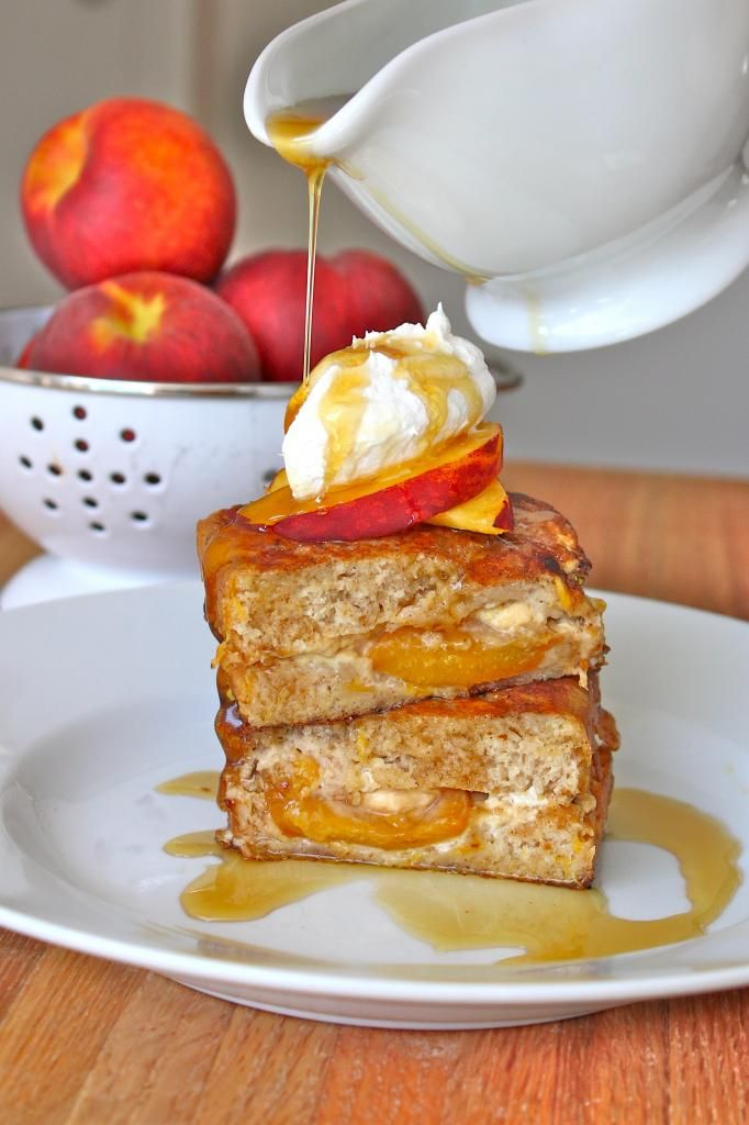 cream stuffed french toast stuffed french toast two peaches and cream ...