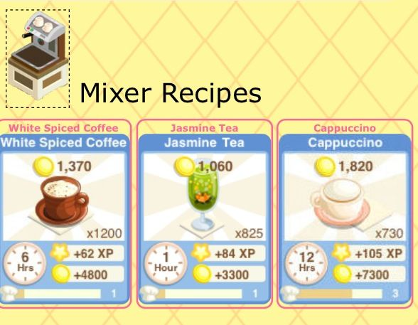 ... Story's Mixer and Recipes | App Animations Wreck this journal
