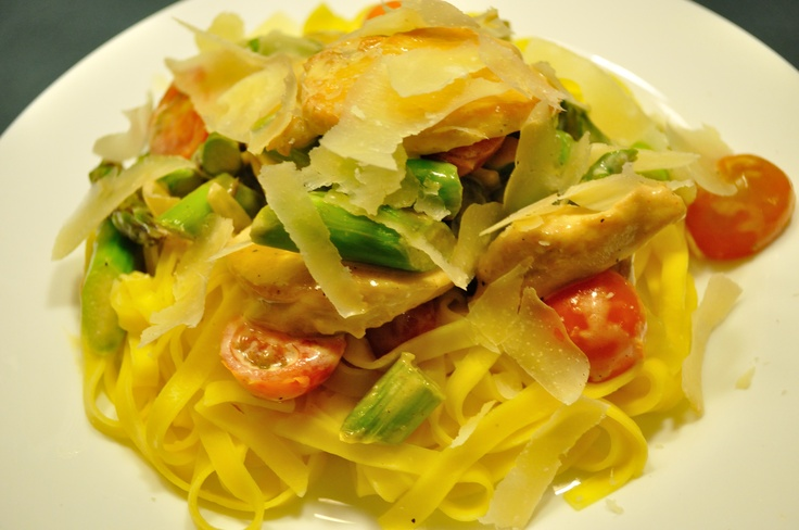 Stilton, Asparagus And Cherry Tomato Tagliatelle Recipes — Dishmaps
