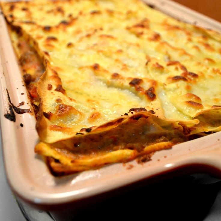 Lasagna alla Bolognese | dinner | Pinterest