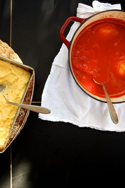 Joy the Baker – Baked Polenta with Tomato and Basil