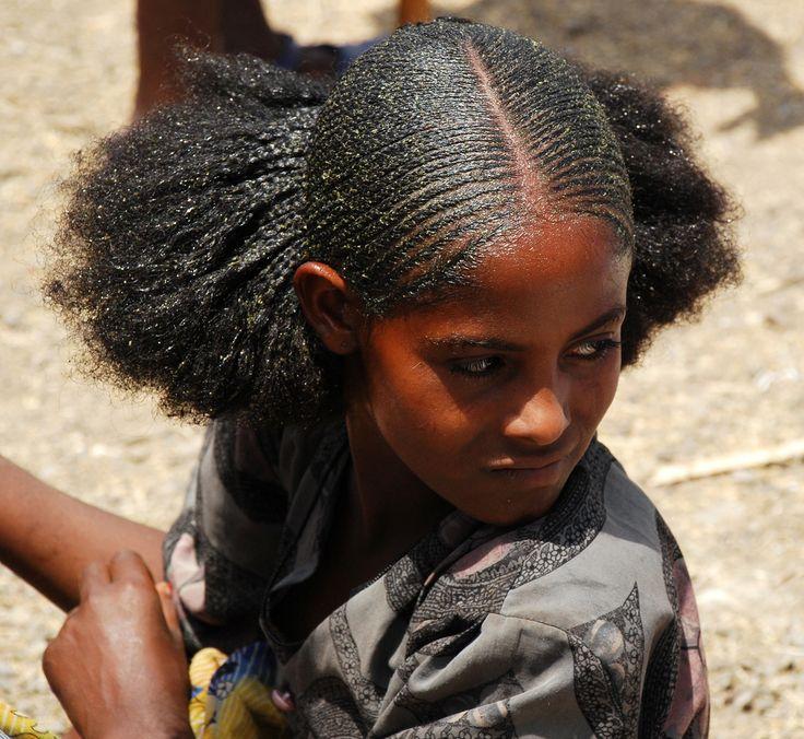 Ethiopian People Hair