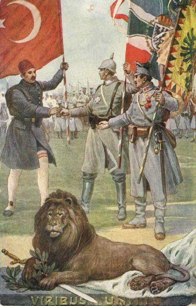 Ottoman Empire WW1 PropagandaOttoman Empire Ww1