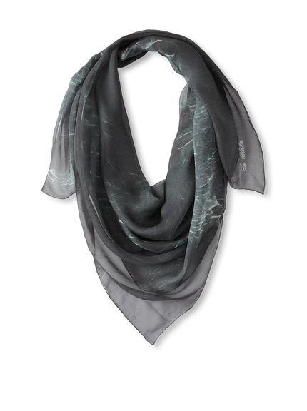 Printed Silk Scarf, Teal, http://www.myhabit.com/redirect/ref=qd_sw_dp ...