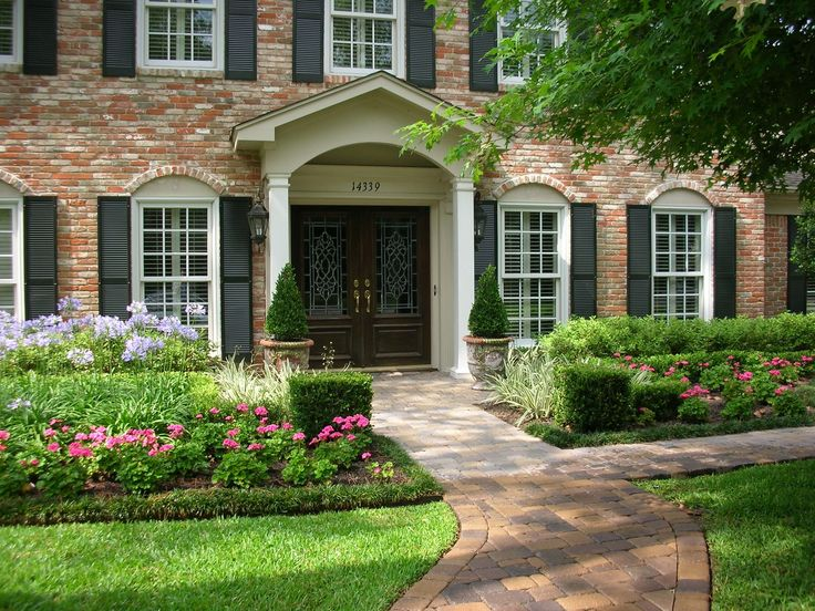 Pin by tracy bigham on front yard landscape pinterest for Professional landscape design