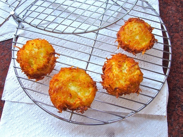 Crispy Panko Potato Latkes - Hanukkah Recipe & Tutorial