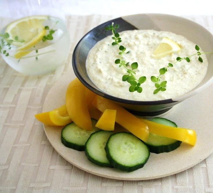 """Lemon Thyme Artichoke Dip   """"Finger Foods""""   Pinterest"""