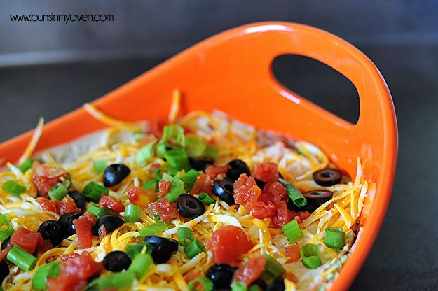 Fiesta Seven Layer Dip | Recipe
