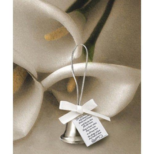 wedding favours silver kissing bells weddings favours bomboniere