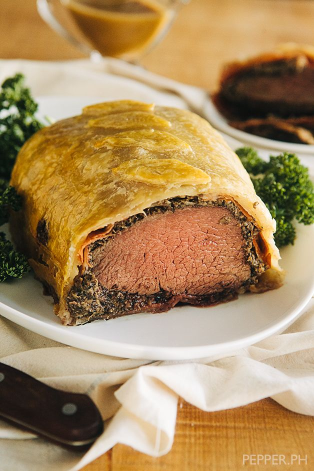 Beef Wellington looks intimidating but I bet its worth a try!