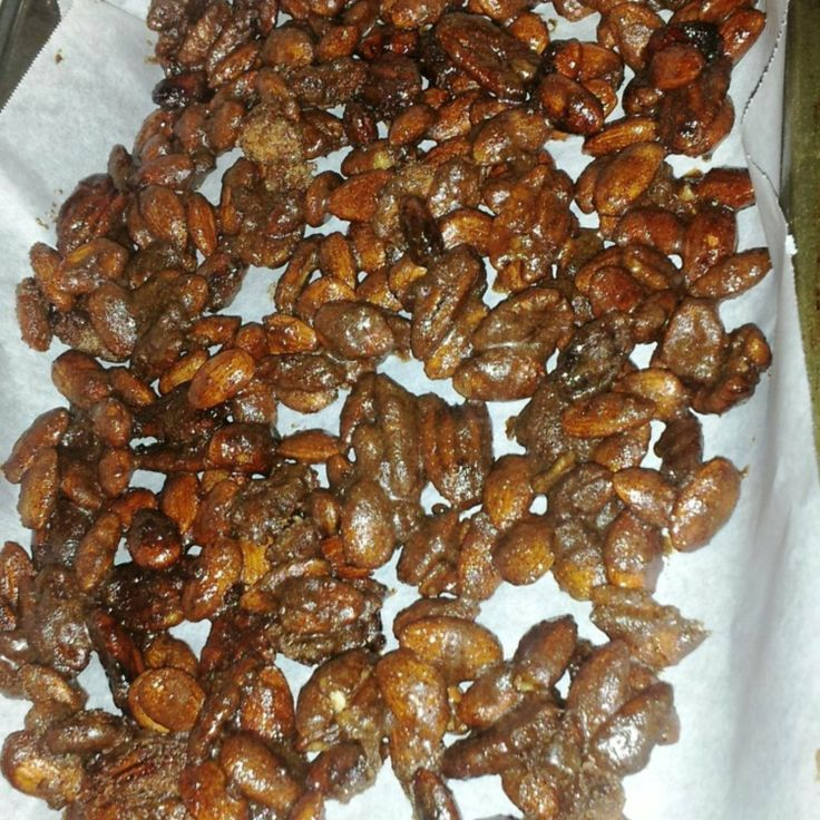 candied nut recipes with pictures | Sugar Free CrockPot Candied Nuts ...