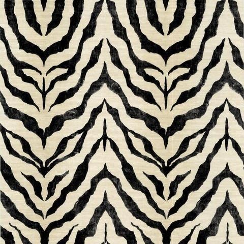 Zebra Skin Wallpaper - BC1580054 from Design by Color Black and White    Zebra Skin Wallpaper