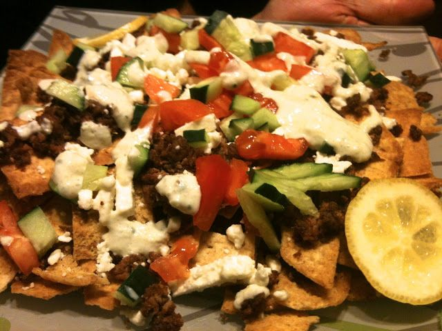 Greek Nachos | Appies and snacks | Pinterest