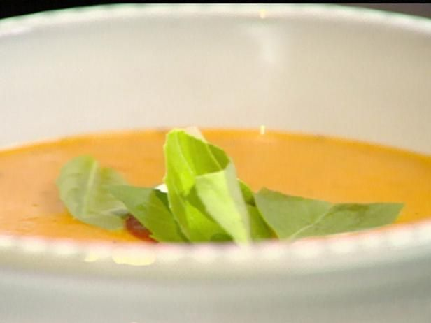 Roasted Tomato Soup - just made this, very yummy, took out the tomato ...