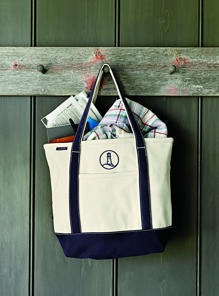 Canvas Tote Lands End Daily Edit Pinterest